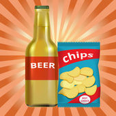 花火デートの持ち物!10「ビールとおつまみセット」