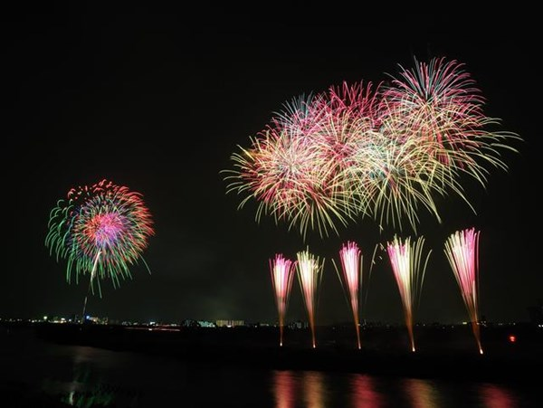 2017年千葉流山花火大会の人気の秘密とは?
