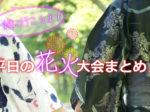 2017年8月第1週の平日に行われる千葉の花火大会ご紹介!
