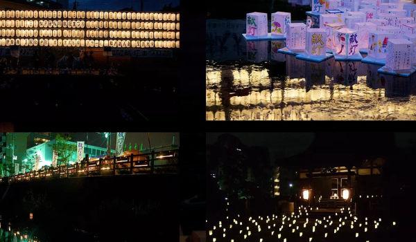 【松戸献灯まつり2017】夏の風物詩の灯籠流しを松戸宿の新スポットで体験